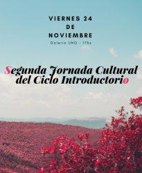 Segunda Jornada Cultural del Ciclo Introductorio